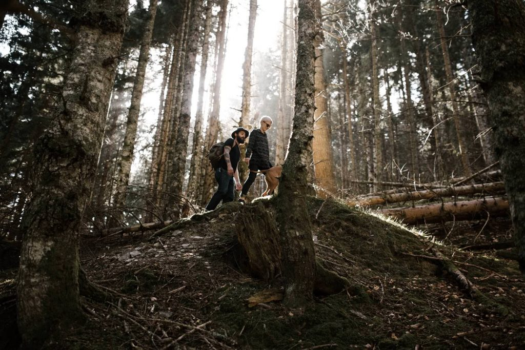 bags road trip wedding Yoris photographe elopement